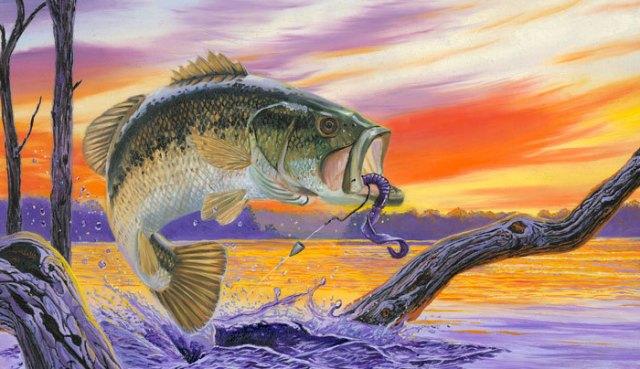 рыбалка на басса в Пафосе