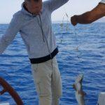 ловля акул Кипр