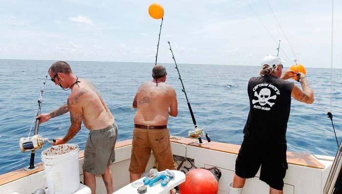 морская рыбалка на акул Кипр