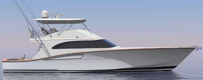 яхта для ловли тунца Кипре