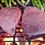 как готовить тунца на гриле