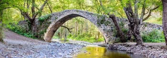 Венецианские мосты на Кипре горах Троодос экскурсии с гидом