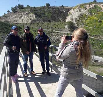 Ловля басса экскурсия на Кипре