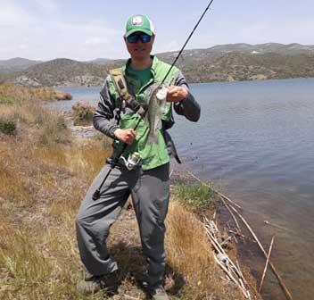 Трофейная рыбалка на басса Кипр