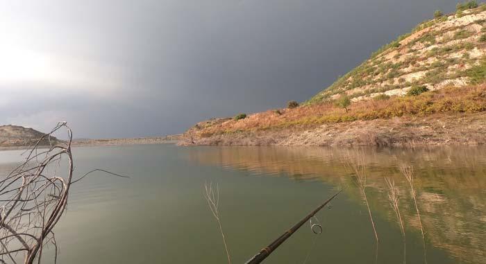 водохранилище Эверету рыбалка