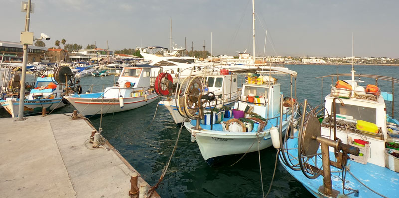 Морская ловля в Пафосе